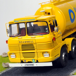 Scammell Routeman Blue Circle Cement