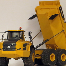 Volvo articulated dump truck