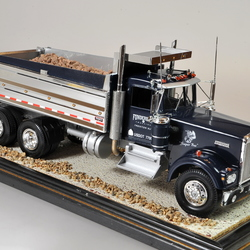 Kenworth Dump Truck Funderburg Trucking