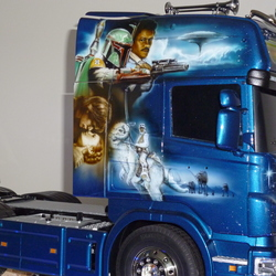 Star Wars Scania